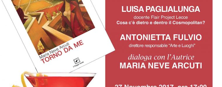 Libri & Cocktails. Flair Project Lecce incontra Maria Neve Arcuti