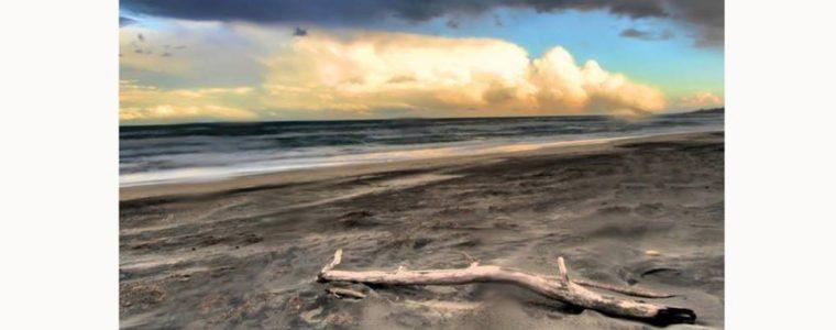 Sulla sabbia il profumo d'inverno di Anna Leo
