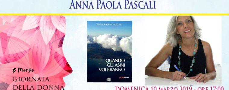 Quando gli asini voleranno, il romanzo di Anna Pascali a Zenson di Piave