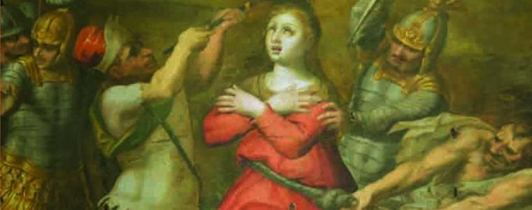 Santa Lucia nella pittura aretusea